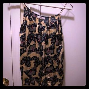 Tucker for target butterfly print cami